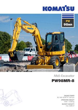 Wheel Excavators Komatsu PW98MR-8
