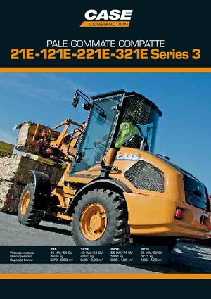 Wheel Loaders Case 021 E S-3