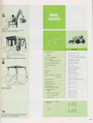 Tekerlekli yükleyiciler Komatsu W 30-1