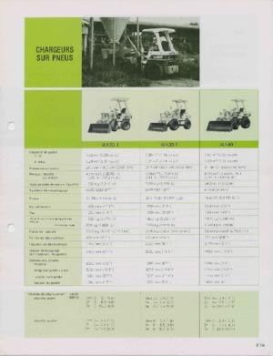 Tekerlekli yükleyiciler Komatsu WA 600-1