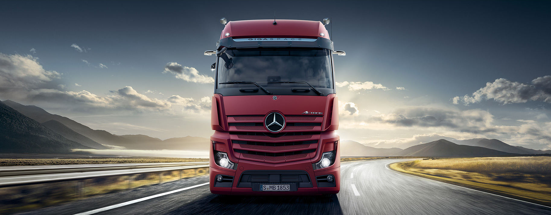 Mercedes-Benz Actros 3336 LS 6x4 Long Haul Truck