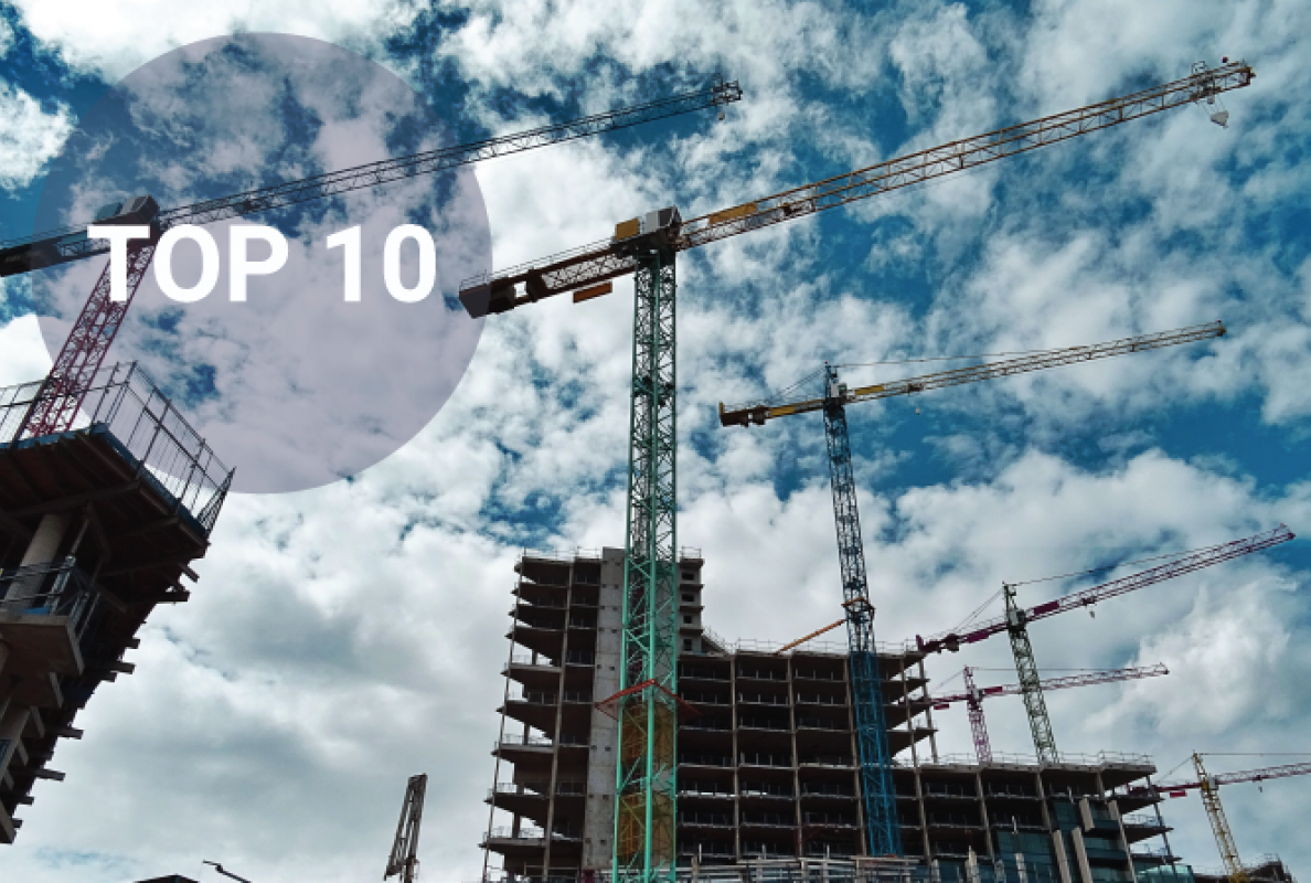 World's Top 10 tallest land-based cranes
