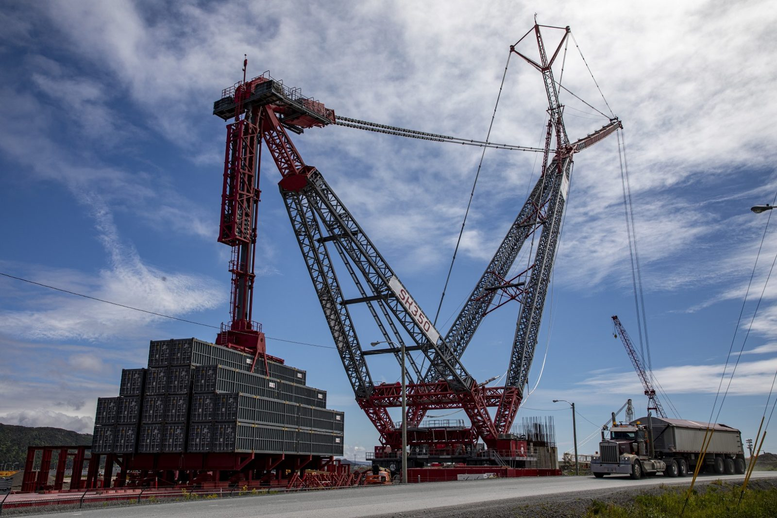 ALE AL.SK350 - World's Top 10 tallest land-based cranes