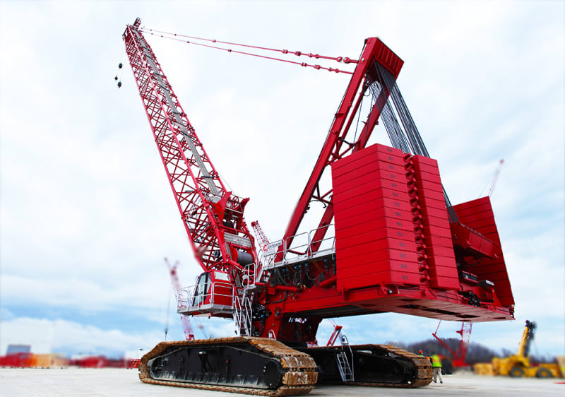 Manitowoc MLC 650 - World's Top 10 tallest land-based cranes