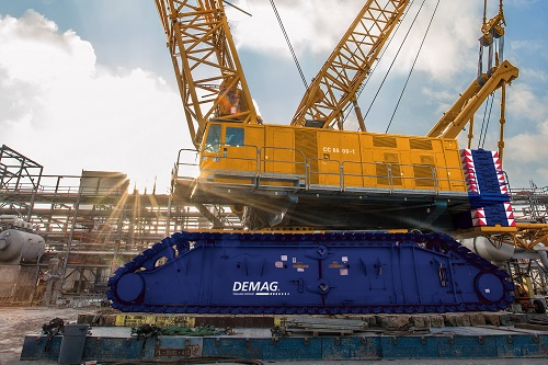 Demag CC 8800-1 - World's Top 10 tallest land-based cranes