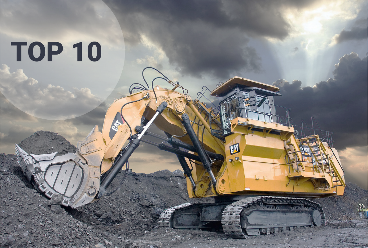 World's Top 10 largest hydraulic excavators