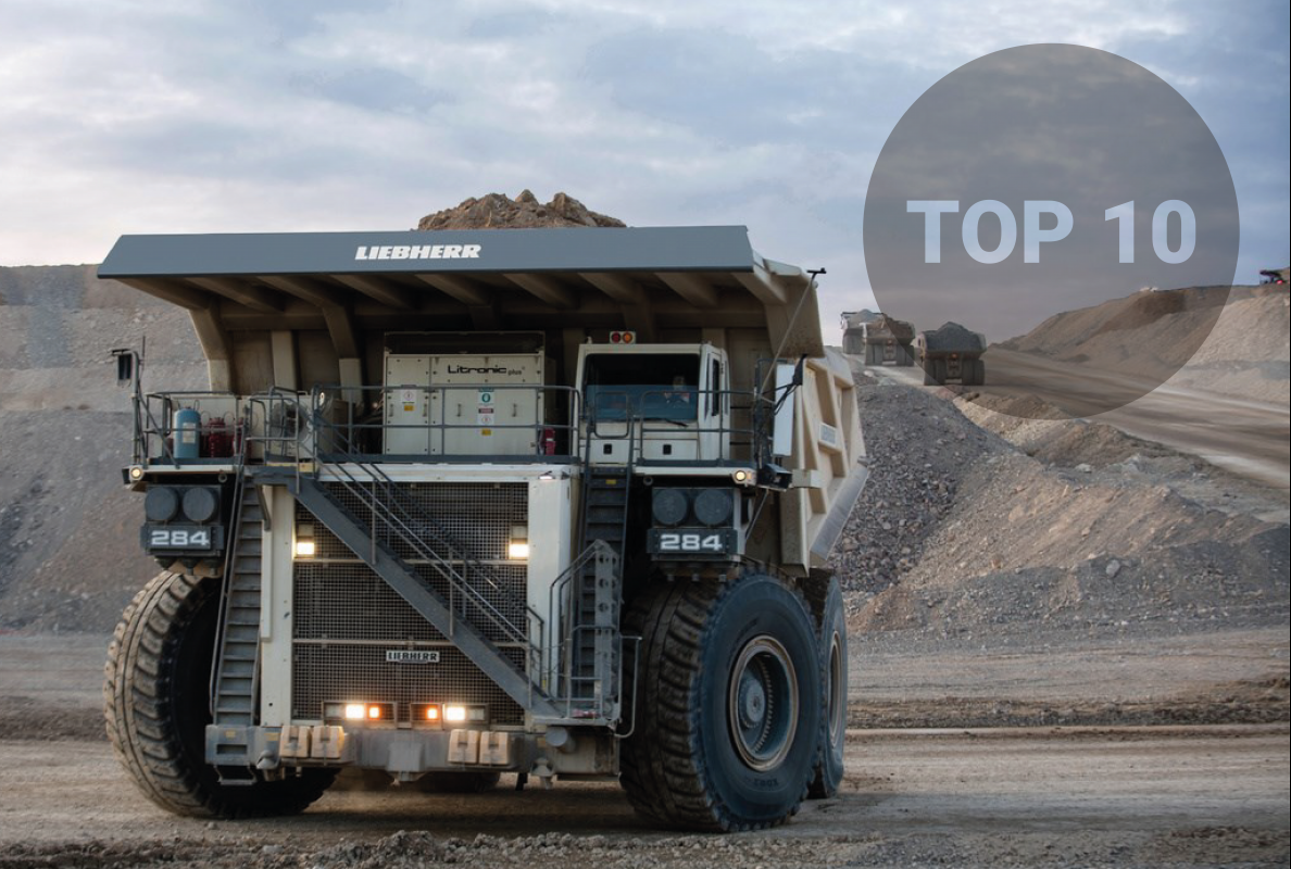 World's Top 10 biggest mining dump trucks