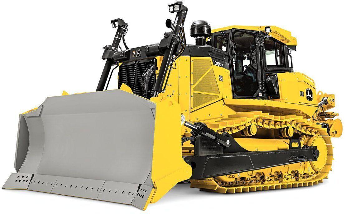 John Deere 1050K - World's Top 10 biggest bulldozers