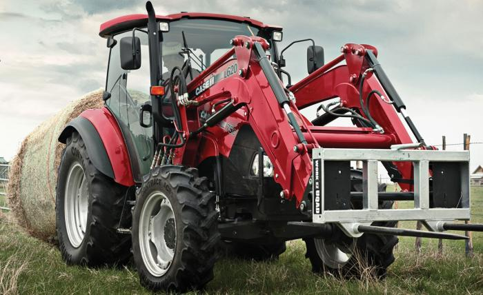 Case IH Farmall 115 C Basis Specifications & Technical Data