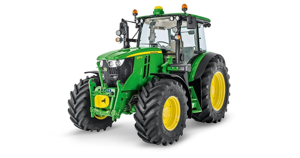 John Deere 6115MC 4WD tractor