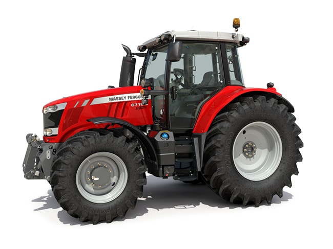 Massey Ferguson MF 6712 S Specifications & Technical Data