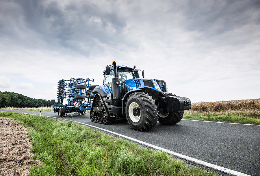 New Holland T8 320 Specifications & Technical Data (2015-2019