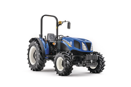 Tractor data new holland