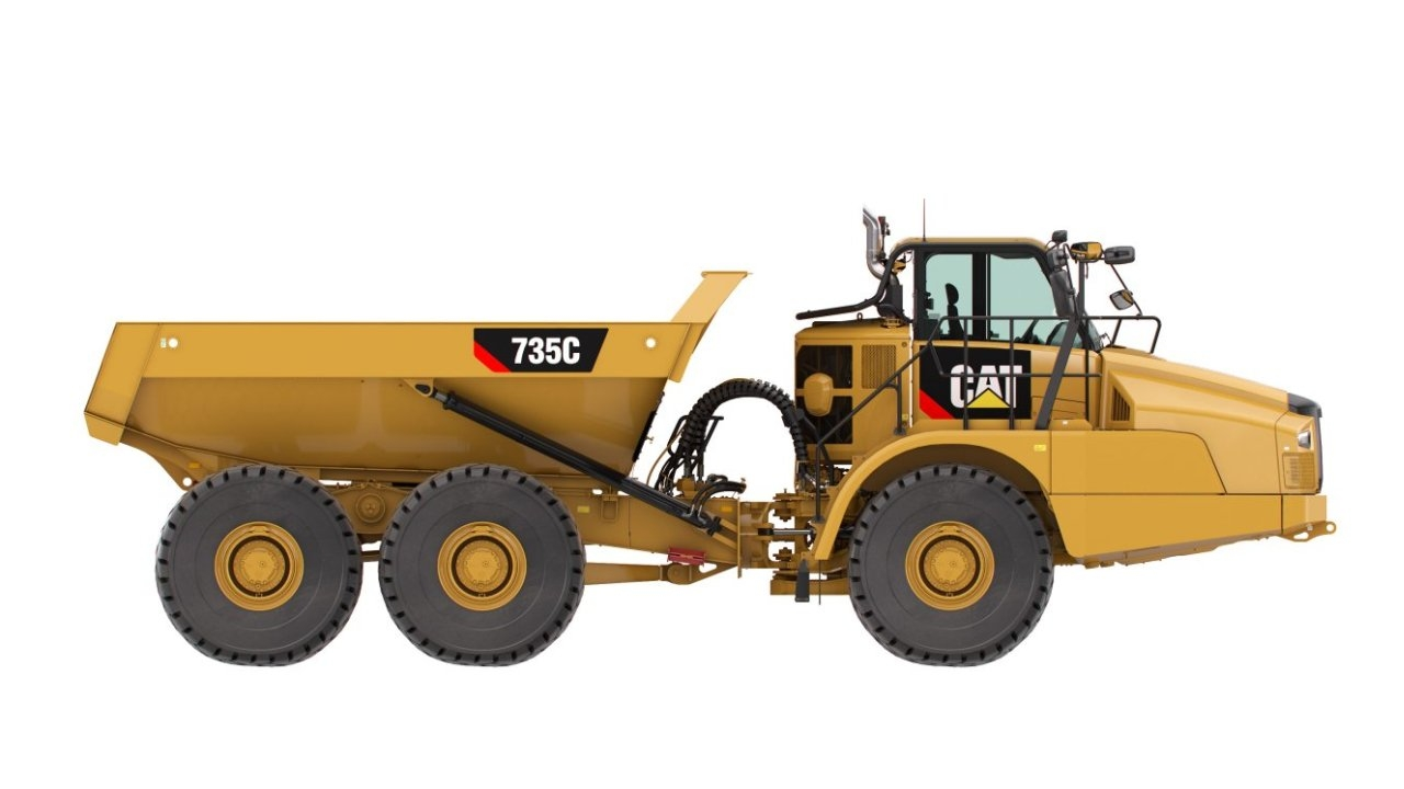 Caterpillar 735 C Articulated Dump Truck