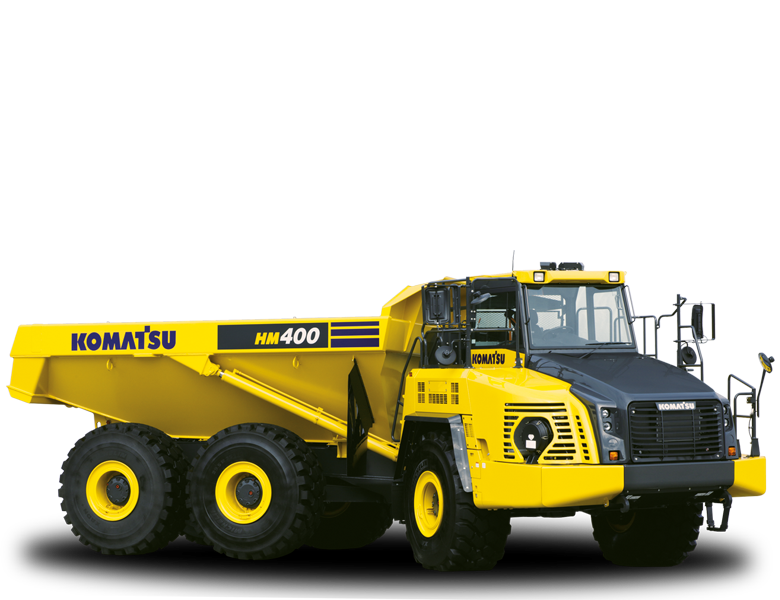 Komatsu HM400-5 Muldenkipper-SKW