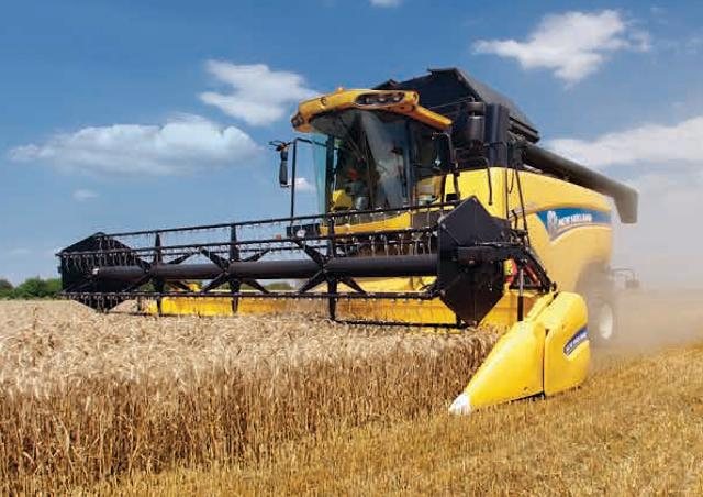 New Holland CX 5080 Elevation Specifications & Technical