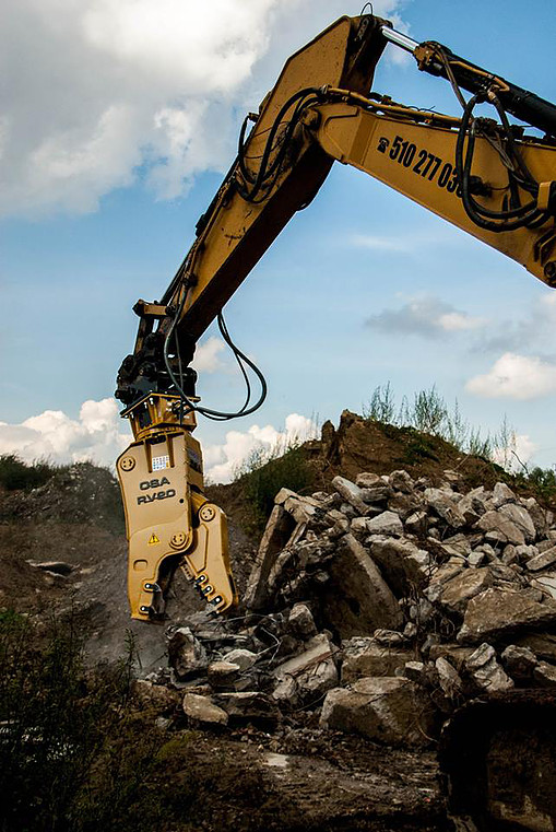 OSA Demolition Equipment RV 40 Specifications & Technical