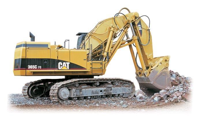 Caterpillar 365 C Specifications & Technical Data (2005-2007