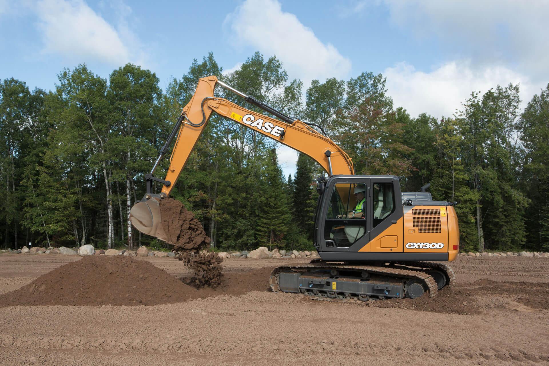 Case Cx130d Excavator Specs 2017 2020 Diggers Lectura Specs