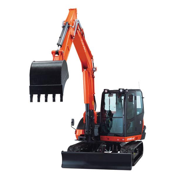Kubota KX080-4α Crawler Excavator