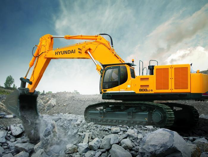 Hyundai R 800 LC-9 A Specifications & Technical Data (2012