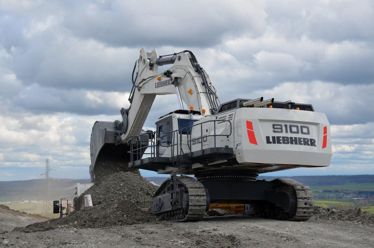 Liebherr R 9100 Excavator Specs 2014 2019 Diggers Lectura Specs