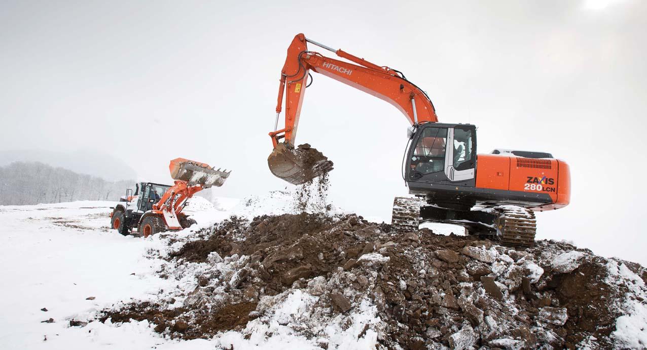 Hitachi ZX 280 LCN-3 Crawler Excavator