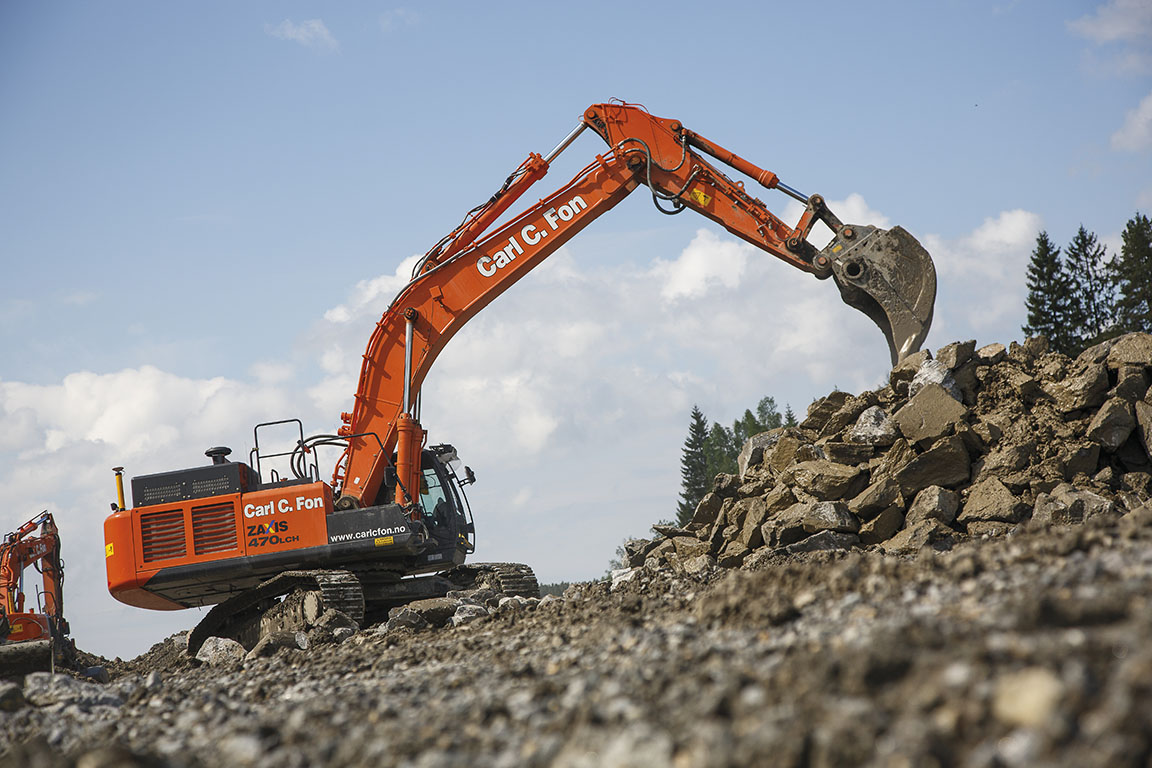 Hitachi ZX 470 LCH-5 Specifications & Technical Data (2012-2015