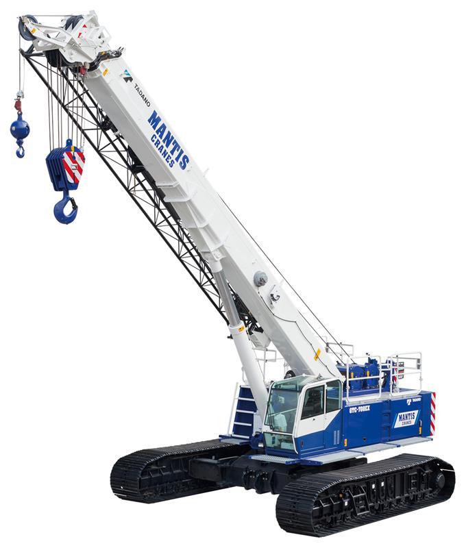 Telescopic Crane Tadano : Tadano faun gtc ex specifications
