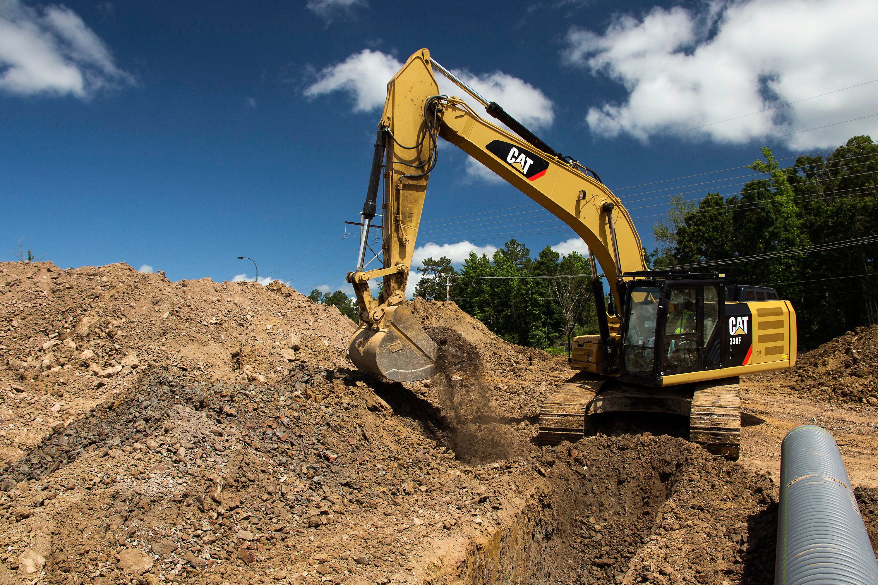 Caterpillar 330F L Specifications & Technical Data (2015-2019