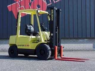 Hyster H 2 50 XM Specifications & Technical Data (1996-1998