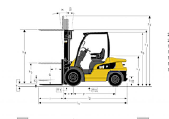 Caterpillar DP25N Specifications Technical Data 2005 2014