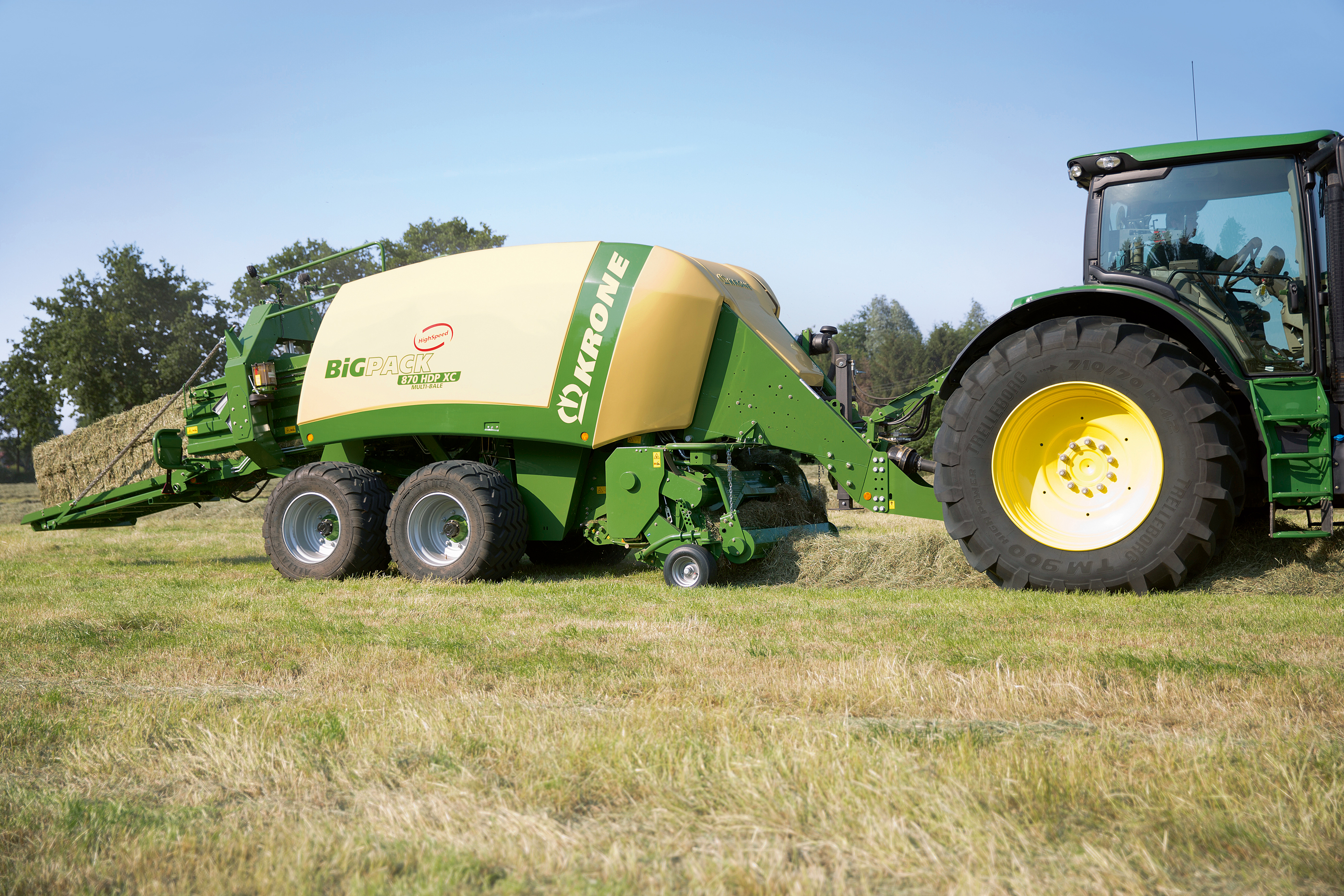 Krone Big Pack 870 HDP XC Specifications & Technical Data