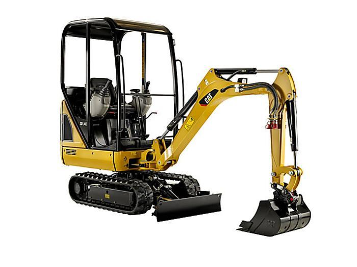 Caterpillar 301.4C Mini Excavator