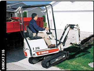 Bobcat 316 Specifications Technical Data 2004 2007 Lectura Specs