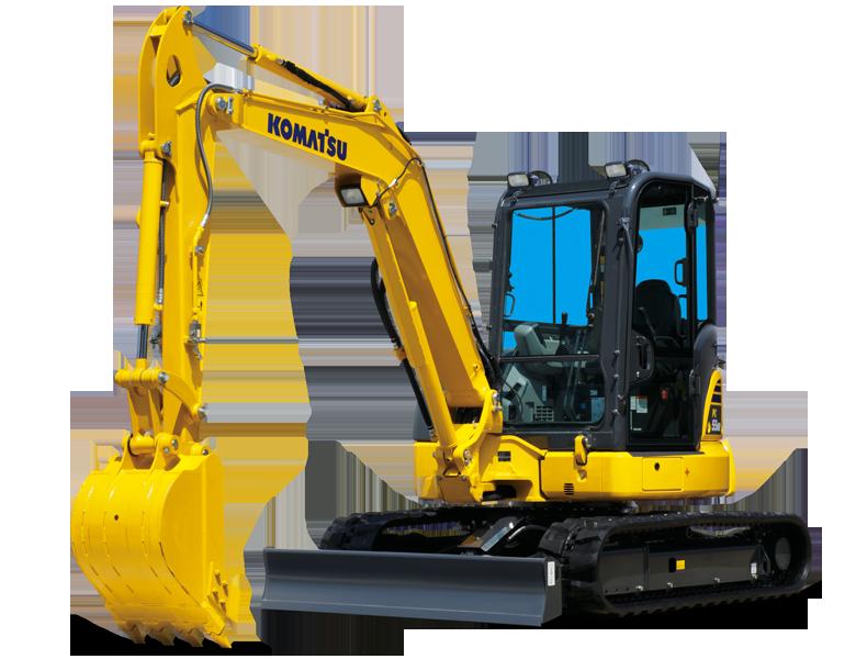 Komatsu PC02-1 Mini Excavator