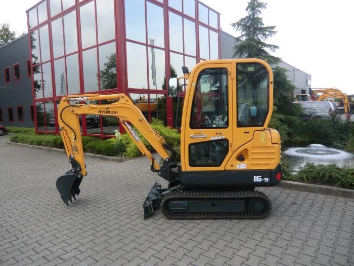 hyundai robex r16 9 crawler mini excavator operating manual download