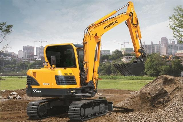 Hyundai R 55-9 A Specifications & Technical Data (2014-2019