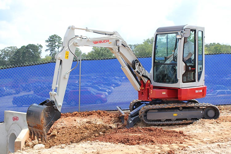 Takeuchi TB 138 FR Specifications & Technical Data (2007-2019