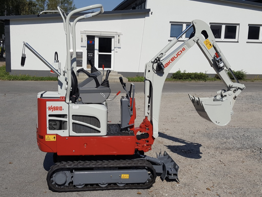 Takeuchi TB 210 Hybrid Specifications & Technical Data (2016