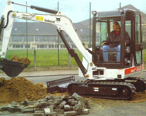 Bobcat X 331 Specifications & Technical Data (1993-2000
