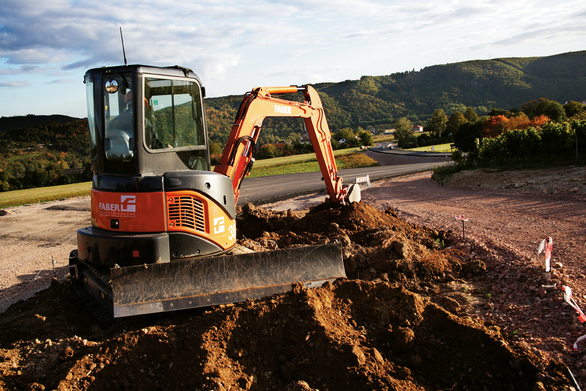 Hitachi ZX 35 U-2 Mini Excavator