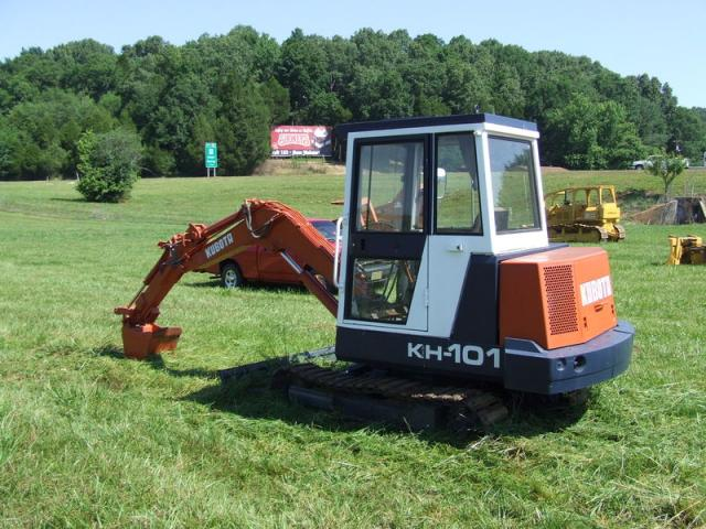 kubota kh101 specifications technical data 1987 1991 lectura specs. Black Bedroom Furniture Sets. Home Design Ideas