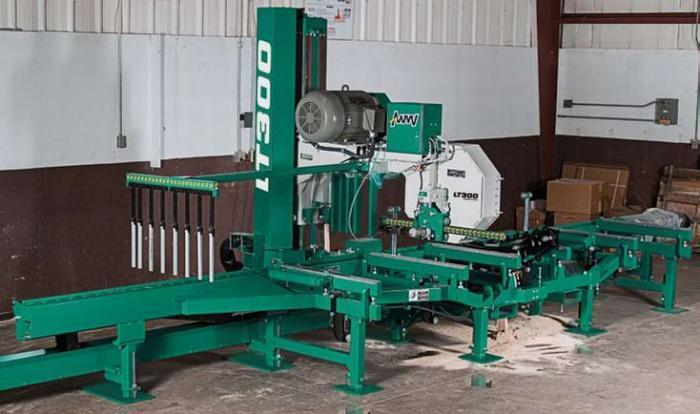 Wood-Mizer LT 300 Specifications & Technical Data (2003-2011
