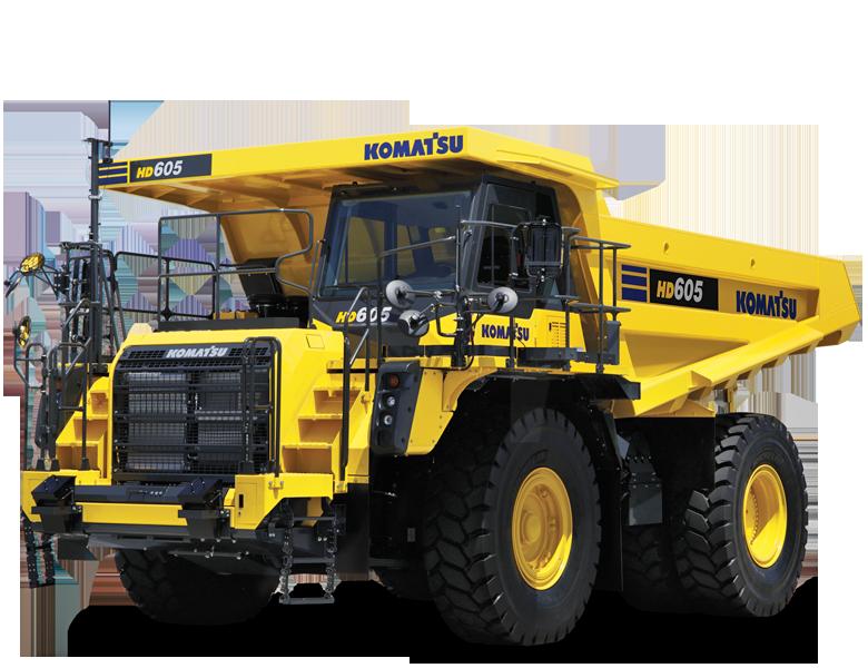 Komatsu HD605-8 Rear Tipping Dump Truck