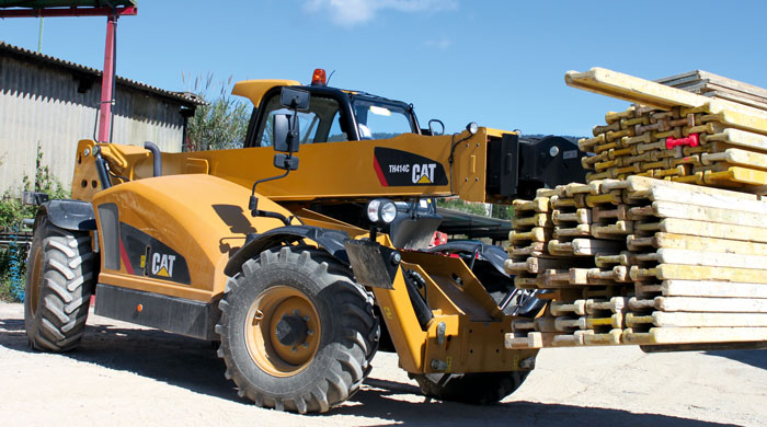 Caterpillar TH414C Specifications & Technical Data (2012-2019