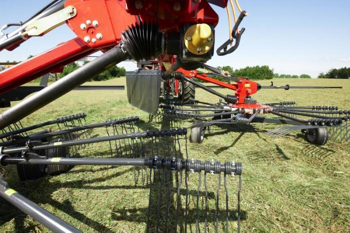 Tandem Rotary Rakes : Vicon andex evo specifications technical data