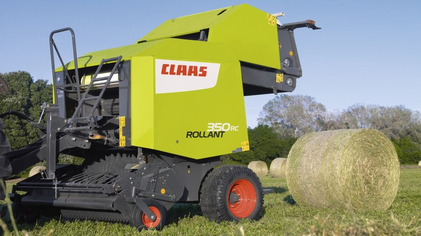 Claas Rollant 350 RC Round Baler
