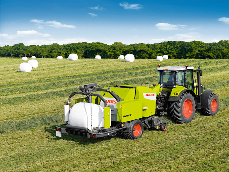 Claas Rollant 375 RC Uniwrap Specifications & Technical Data (2011