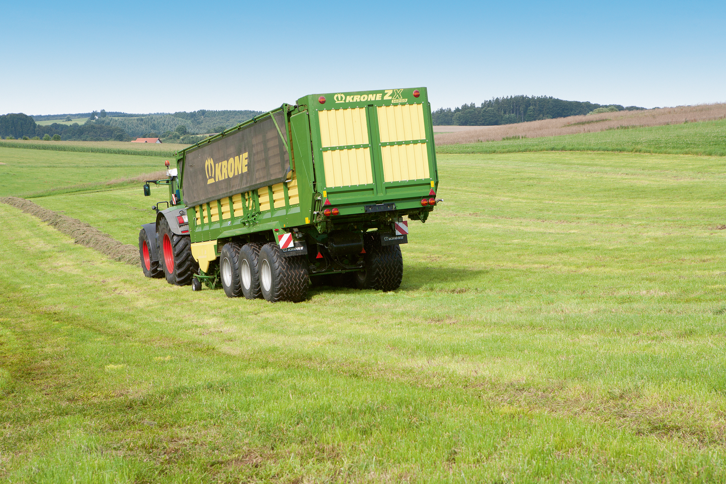 Krone ZX 560 GD Specifications & Technical Data (2015-2018